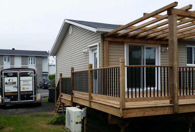 Galerie / Patio Drummondville - McClure Construction