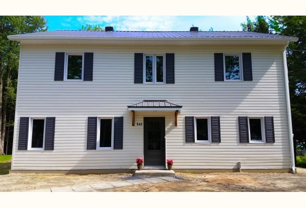 Maison Abordable maison abordable Écoénergétique drummondville | réalisations